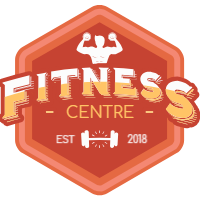Collection of red fitness labels 2