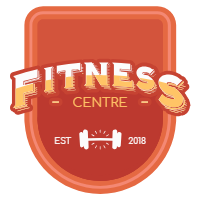 Collection of red fitness labels 3