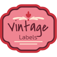 Set of labels in vintage style 1