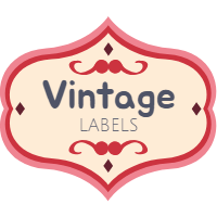 Set of labels in vintage style 6