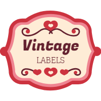 Set of labels in vintage style 4